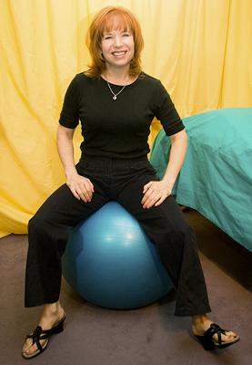 Kathleen Gramzay, LMT, NCTMB, Developer of Kinessage® Massage Through Movement